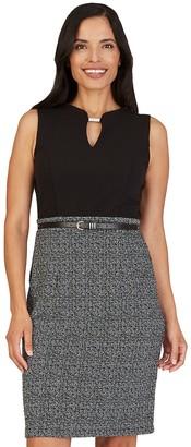 Apt. 9 Women's Keyhole-Neck Work Dress