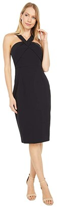 Vince Camuto Haltered Bodycon (Black) Women's Clothing