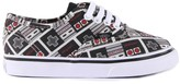 Vans x Nintendo - Authentic Black Console Trainers