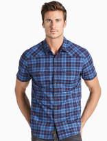 Lucky Brand Saturday Stretch Poplin Western Shirt