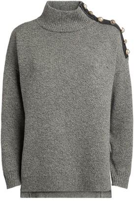 Claudie Pierlot Button-Detail Sweater