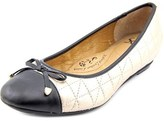 Sofft Shonda Round Toe Leather Flats.