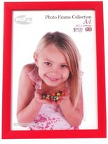 Inov-8 Inov8 British Made Traditional Picture/Photo Frame, Regal Red, A4