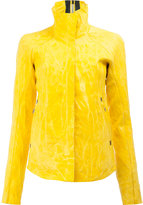 Isaac Sellam Experience - crease-effect leather jacket - women - Lamb Skin - 36