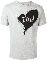 Vivienne Westwood Man - Heart T-shirt - men - Cotton - L