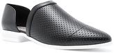 Qupid Black & White Tuxedo Loafer