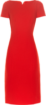 Oscar de la Renta Sweetheart-neck crepe dress