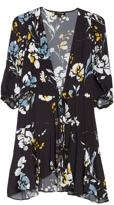 Yumi Kim Love Wins Floral Wrap Dress