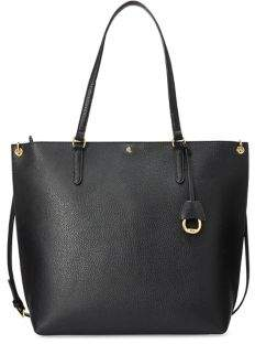 Lauren Ralph Lauren Large Faux-Leather Abby Tote