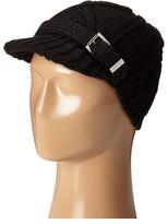 MICHAEL Michael Kors Classic Hand Knit Cable News Boy Cap