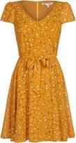 Yumi Curves Swallow Bird Print Dress