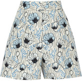 Bottega Veneta Printed cotton shorts