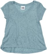 Erge Speckle Jersey Tee (Toddler/Kid) - Baby Blue-6