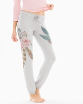 Soma Intimates Wild Spirits Cotton Blend Sweatpants