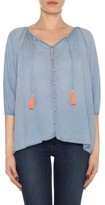 Joe's Jeans Women's Juliette Chambray Blouse