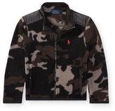 Ralph Lauren 2-7 Camo Fleece Hybrid Jacket