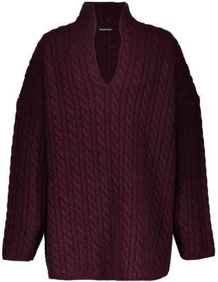 Balenciaga V-neck wool jumper
