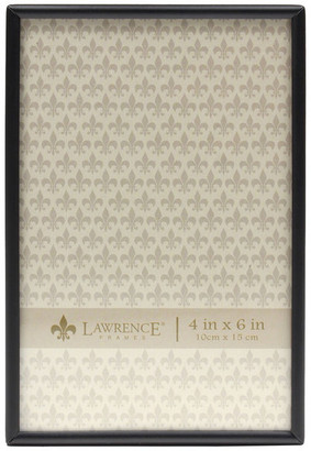Lawrence Frames Simply Black Picture Frame, 4x6