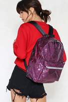 Nasty Gal nastygal WANT Stop Traffic Glitter Backpack