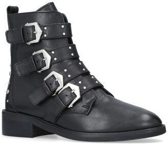 Carvela Scant Buckled Ankle Boots