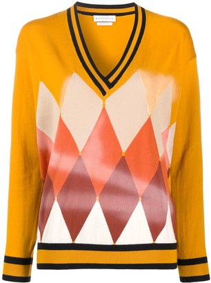Ballantyne Diamond Airbrush sweater