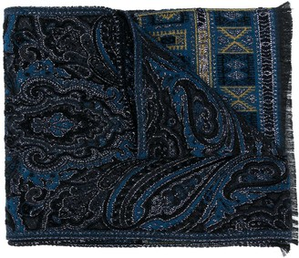 Etro Chenille evening scarf