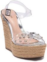 Schutz Melisa Embellished Espadrille Sandal