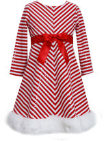 Bonnie Jean Long Sleeve Party Dress - Preschool Girls