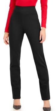 INC International Concepts Inc Satin Straight-Leg Pants, Created for Macy's
