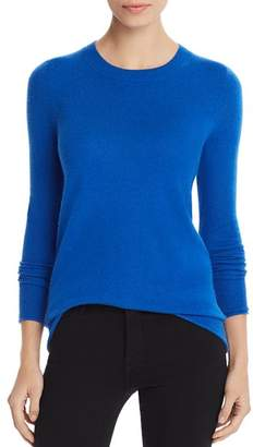 Aqua Fitted Cashmere Crewneck Sweater - 100% Exclusive
