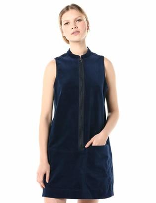 G Star Women's Blake Zip Dress Sleeveless