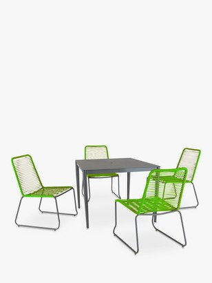 Kettler Metro 4-Seater Garden Dining Table & Chairs Set