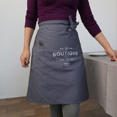 Ikeelife® Cotton Japanese Baking English Apron The Cook Bust Long Apron Restaurant Coffee Milk Tea Shop Overalls