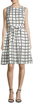 Tommy Hilfiger Printed Fit-and-Flare Dress