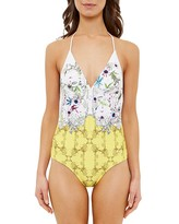 Ted Baker Roulla Passion Flower One-Piece Swimsuit