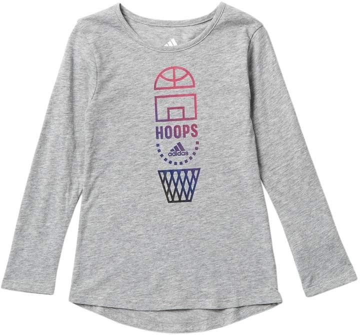 6ce2e510 adidas Gray Girls' Tops - ShopStyle