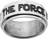 "Star Wars Stainless Steel ""May The Force Be With You"" Spinner Band - Men"