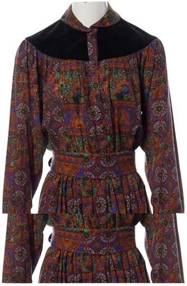 Ted Lapidus Multicolour Dress for Women Vintage