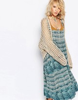 Free People Trinity Loose Knit Shrug