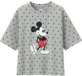 Uniqlo Women Disney Project Short Sleeve Graphic T-Shirt
