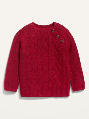 Old Navy Unisex Cable-Knit Raglan Sweater for Baby