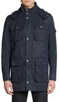 Cole Haan Hooded Cotton & Nylon Field Jacket