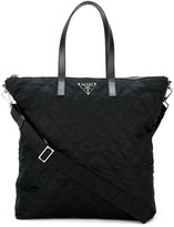 Prada diamond stitch tote bag