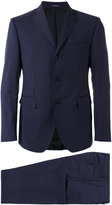 Tagliatore three button suit - men - Cupro/Wool - 48
