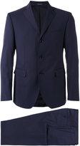 Tagliatore three button suit - men - Cupro/Wool - 50