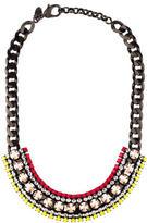 Iosselliani Crystal Chain Necklace