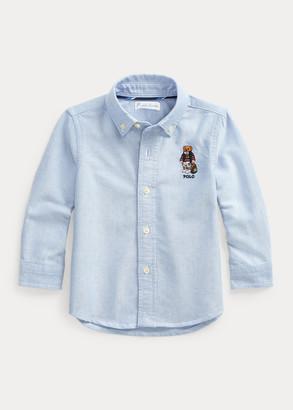 Ralph Lauren Polo Bear Cotton Oxford Shirt