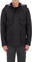 Isaora Men's Hooded Jacket & Removable Lining-BLACK