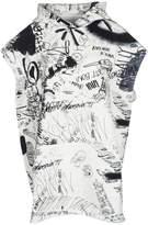 MM6 MAISON MARGIELA Mm6 Scribble Print Hooded Sweatshirt