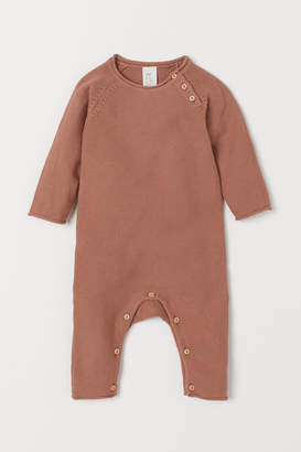 H&M Knit Cotton Overall